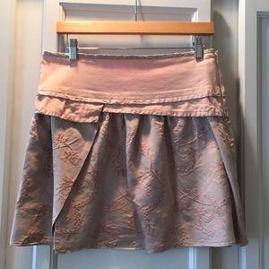 Rebecca Taylor pink mini skirt